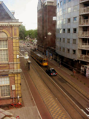 Tram line 24 and 16